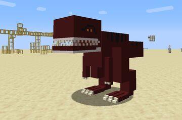 Ark Survival MC Minecraft Texture Pack