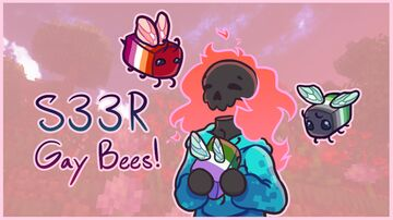S33R Gay Bees! Minecraft Texture Pack