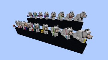 LGBTQ+ Doggos Minecraft Texture Pack