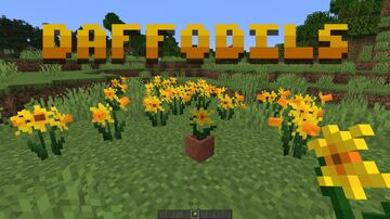 Daffodils! Minecraft Texture Pack