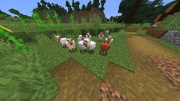 Chickens+ Minecraft Texture Pack