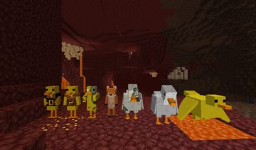 Poultry Nether Minecraft Texture Pack