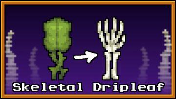 Skeletal Dripleaf Blocks Minecraft Texture Pack