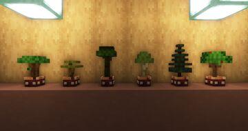 Better Saplings v2 !! (3D Saplings) Minecraft Texture Pack