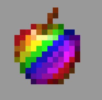 Rainbow Apple (1.16.4) Minecraft Texture Pack