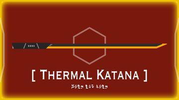 Thermal Katana Minecraft Texture Pack
