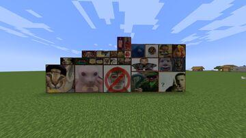 Memes Paint Minecraft Texture Pack