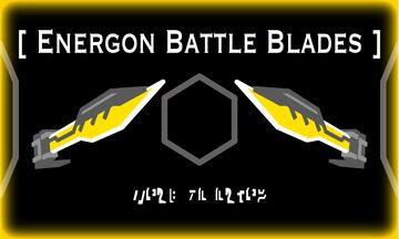 Optimus Prime's Battle Blades V2 (Arm Blade Update) Minecraft Texture Pack