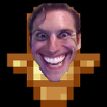 Jerma Totem of Undying Minecraft Texture Pack