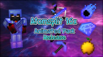 Atomsplit 16x - (ANIMATED Best PvP PACK RELEASE) Minecraft Texture Pack