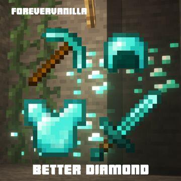 Better diamond (ForeverVanilla) Minecraft Texture Pack