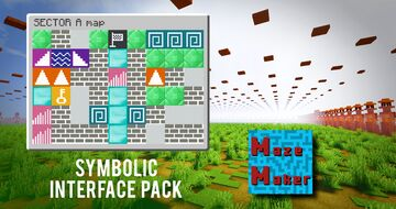Symbolic Interface Pack [MazeMaker] Minecraft Texture Pack