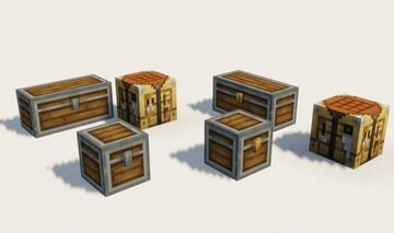 Andesite Chests + Crafting Table Minecraft Texture Pack