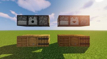 Redesign of dispensers and droppers to look like barrels (1.13 barrels!) Minecraft Texture Pack