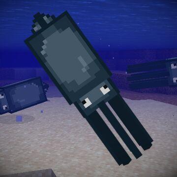 Realistic Squid - Custom Model (Requires Optifine) Minecraft Texture Pack