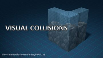Visual block collisions v1.1 Minecraft Texture Pack