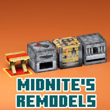 Midnite's Remodels (Vanilla-Style Block Remodels) Minecraft Texture Pack