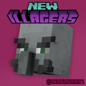 New Illagers (Bedrock Edition) Minecraft Texture Pack