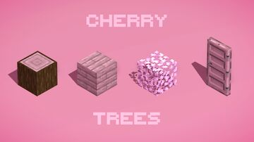Cherry Trees Minecraft Texture Pack