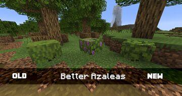 Better Azalea Saplings Minecraft Texture Pack