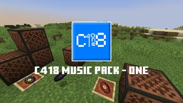 C418 Music Pack - One Minecraft Texture Pack