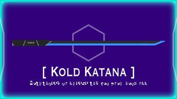 Kold Katana Minecraft Texture Pack