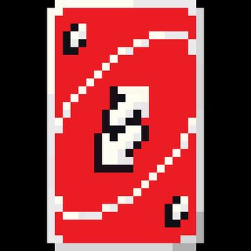 Red Uno Reverse Card Totem Of Undying Minecraft Texture Pack