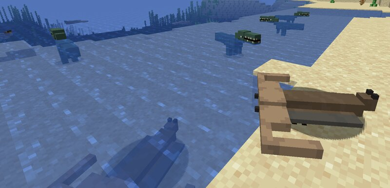 Drowned And Turtle