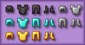 Consistent Armor - Java Minecraft Texture Pack
