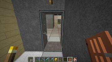 Glass door Minecraft Texture Pack