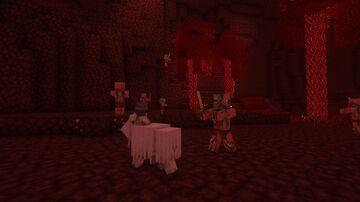 Zombified Piglins to Zombie Pigmen (Requires Optifine) Minecraft Texture Pack