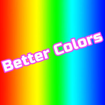 Better Colo(u)rs! Minecraft Texture Pack