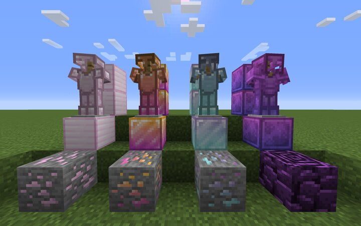 New Armor and Ores