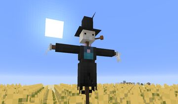 Turnip-Head - Howl's Moving Castle Minecraft Texture Pack