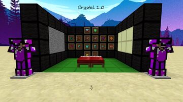 Crystal 1.0 Minecraft Texture Pack