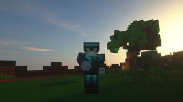 ! Cyan Bedless Noob 200k [128x] Minecraft Texture Pack