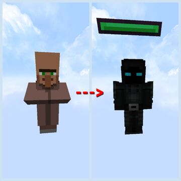 Villager to player! Add [120 new skins!] Minecraft Texture Pack