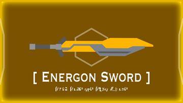 Optimus Prime's Energon Sword Minecraft Texture Pack
