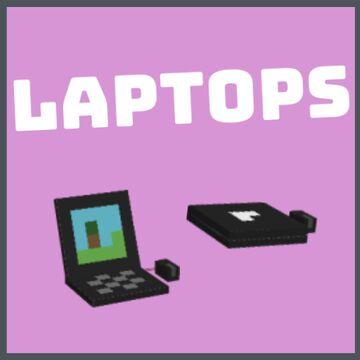 [1.16.5+] Laptops [3D] - No Optifine Required Minecraft Texture Pack