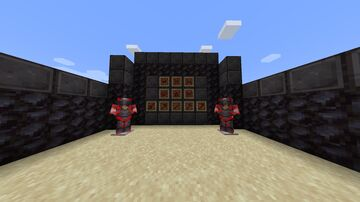 Red Netherite Items Minecraft Texture Pack