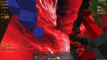 Blood Dragon Sky Overlay Minecraft Texture Pack
