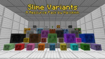 Slime Variants (Underground Update) (Optifine 1.17.1) Minecraft Texture Pack