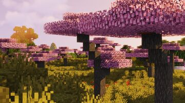 Cherry Blossom Trees Minecraft Texture Pack