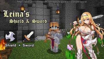 Leina's Shield & Sword Minecraft Texture Pack