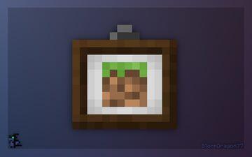 White Item Frames Minecraft Texture Pack