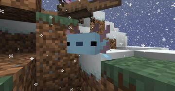 Wooper over axolotl Minecraft Texture Pack