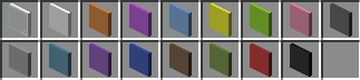 3D Glass Panes Minecraft Texture Pack