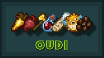 Oudi: Outlined Everything! - Java Minecraft Texture Pack