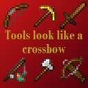 Tools look like a crossbow 1.16