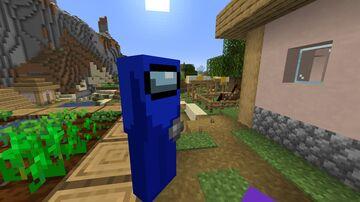 Amogus Villagers Minecraft Texture Pack